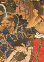 五百羅漢―増上寺秘蔵の仏画 幕末の絵師 狩野一信 記者発表会《もっと知りたい!展覧会》